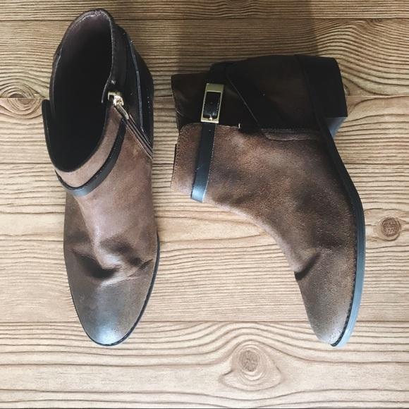 bb346e00c09 ❤️ Franco Sarto Shandy Ankle Bootie
